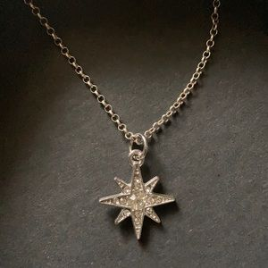 Jewelry - Silver North Star necklace